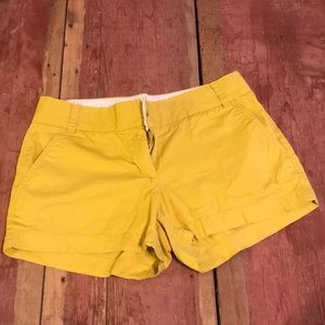 J crew chino short small spot on front